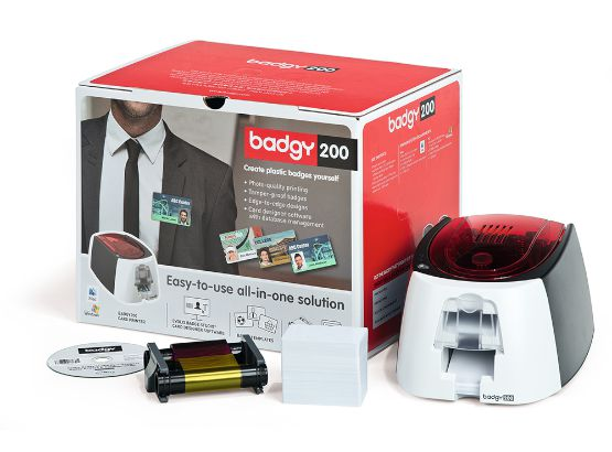Evolis Badgy 200 Kartendrucker - Set