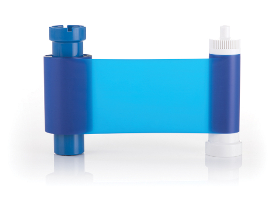 Monochromband blau - Magicard Kartendrucker